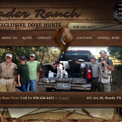 Ranch Business Website